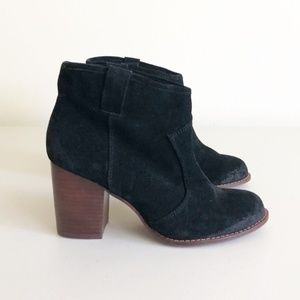 Splendid Lakota Distressed Suede Ankle Boots Sz 6